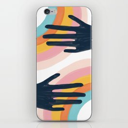 Double the Colors iPhone Skin