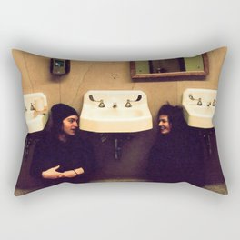 Coffee Shop Nights Rectangular Pillow