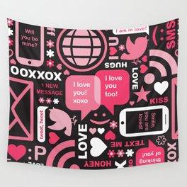 Social Inbox Wall Tapestry