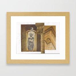 Two-stage column: vacuum Framed Art Print