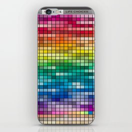 Life choices iPhone Skin