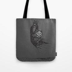 Floating Viking Tote Bag