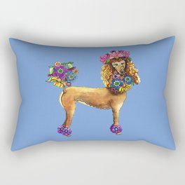 Poodle Dee Doo Two Rectangular Pillow