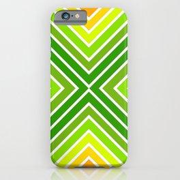 VooDoo Citrus Stripes 5 iPhone Case