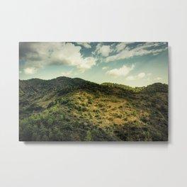 Mountainlight 2 Metal Print