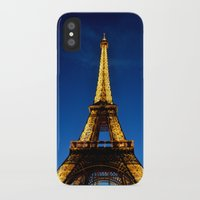 eiffel iPhone & iPod Cases featuring Eiffel by Heather Hartley