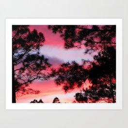 Georgia Sky Art Print
