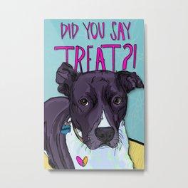 Chili Dog Metal Print