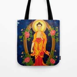 The Jewel in the Lotus Tote Bag