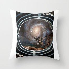 Trip to Space Throw Pillow
