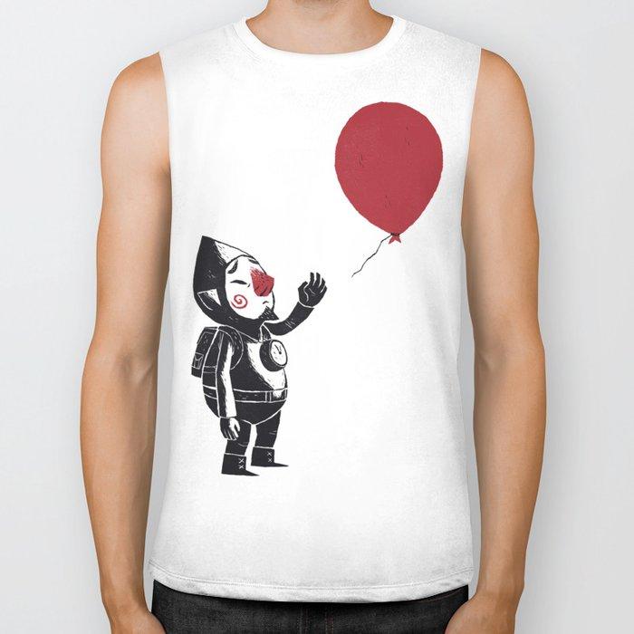 balloon fairy Biker Tank