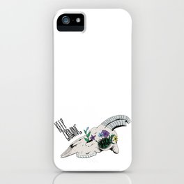 Keep Growing iPhone Case