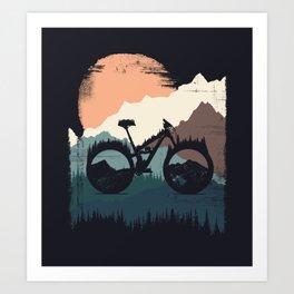 Yety Enduro Art Print