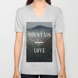 Mountain Love Unisex V-Neck