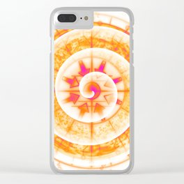 Technological Convergence - Synthetic Evolution Clear iPhone Case
