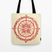 wander Tote Bags featuring Wander by Samantha Crepeau