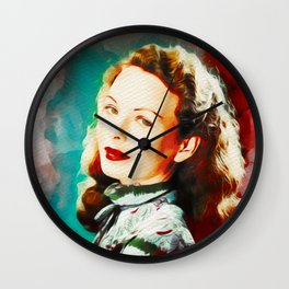 Jeanne Crain, Vintage Movie Star Wall Clock