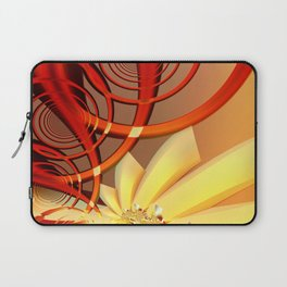 Circling 2 Abstract Fractal Art Laptop Sleeve