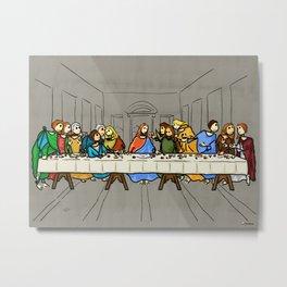 Cenaculum -Last Supper Metal Print