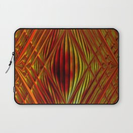 Glass with fire Laptop Sleeve
