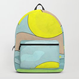 Sunrise , abstract Backpack