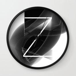 Dark Math. Z Wall Clock