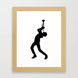 Trumpet Ludwig Framed Art Print