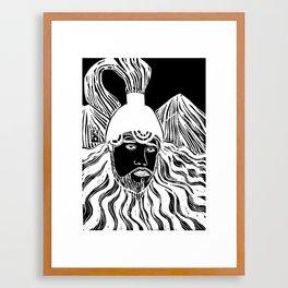 Sun Shin Framed Art Print