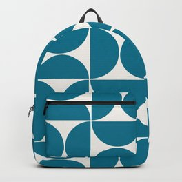 Modern Geometric Seamless Pattern Mid Century VIII Backpack