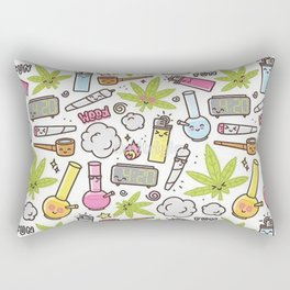 Weed Mania Rectangular Pillow