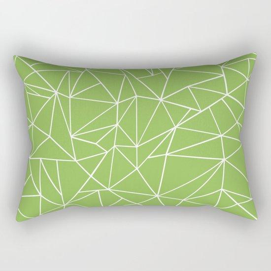 Ab Outline Greeny Rectangular Pillow