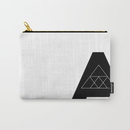 """Geometric Letter """"A"""" Carry-All Pouch"""