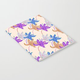 colourful autumn leaves Notebook