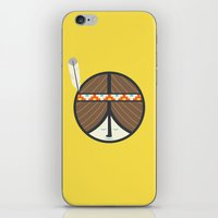peace iPhone & iPod Skins featuring Peace by Wharton
