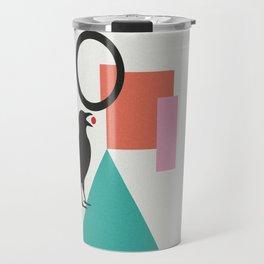 constructivist bird Travel Mug