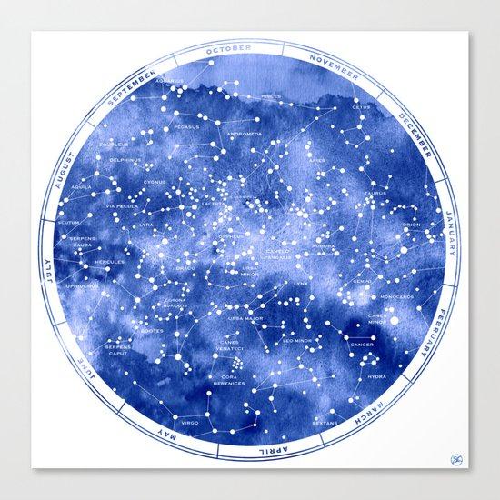 Northern Stars Canvas Print