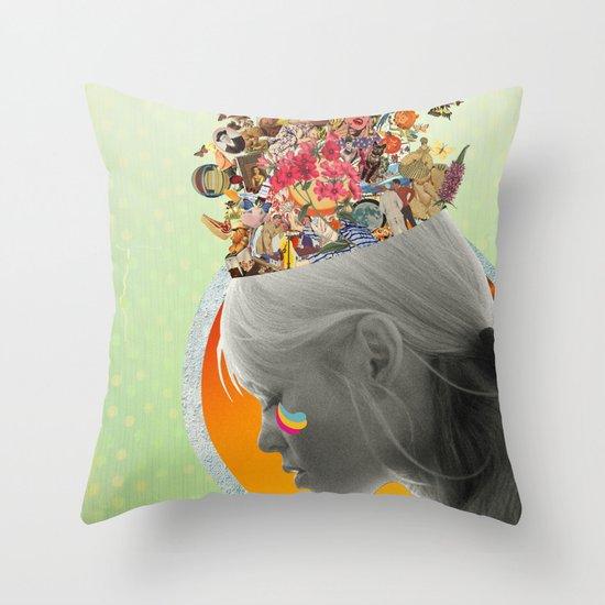 Inside of Me Throw Pillow