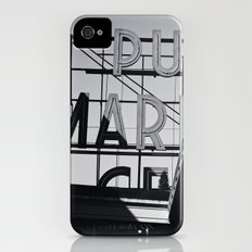 pike place iPhone (4, 4s) Slim Case