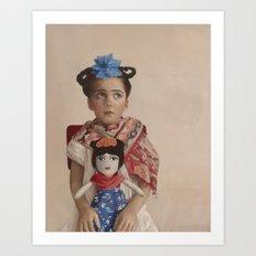 The Fridas Art Print