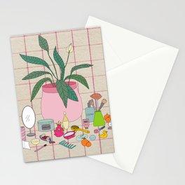 Still Life Bathroom Stationery Cards