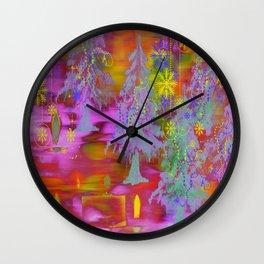 Winter Design DF Wall Clock