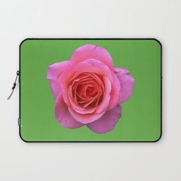 bed of roses: hot pink, neon green Laptop Sleeve