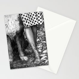 Muddy Paws BW Stationery Cards