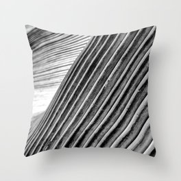 Move Art Monochrome Throw Pillow