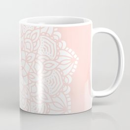Mandala Mermaid Sea Pink by Nature Magick Coffee Mug
