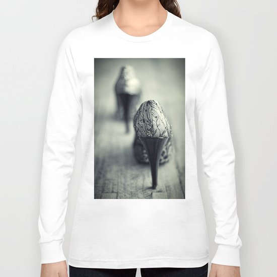She was still sleeping.... Long Sleeve T-shirt