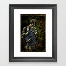 Pagan Pan Framed Art Print
