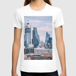 London Cityscape (Color) T-shirt