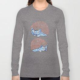 Watercolor Art | Hedgehogs! Long Sleeve T-shirt