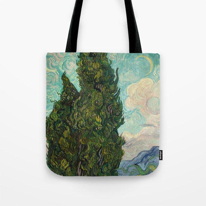 Cypresses - Van Gogh Tote Bag